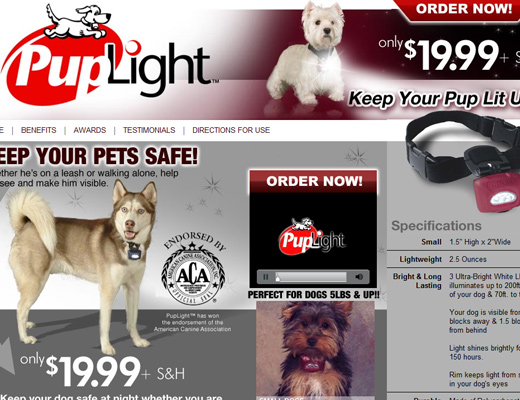 Puplight Dog Collar Review Puplight Lighted Collar For